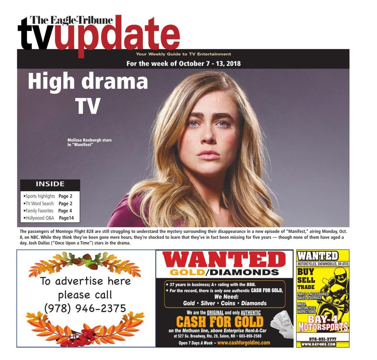 TV Update: Oct. 7 - 13