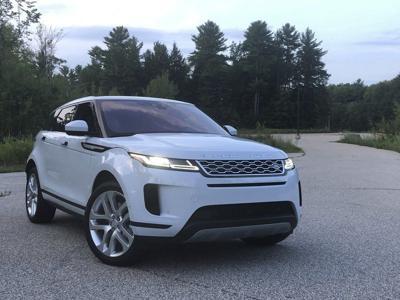 Range Rover Evoque takes elegance off-road