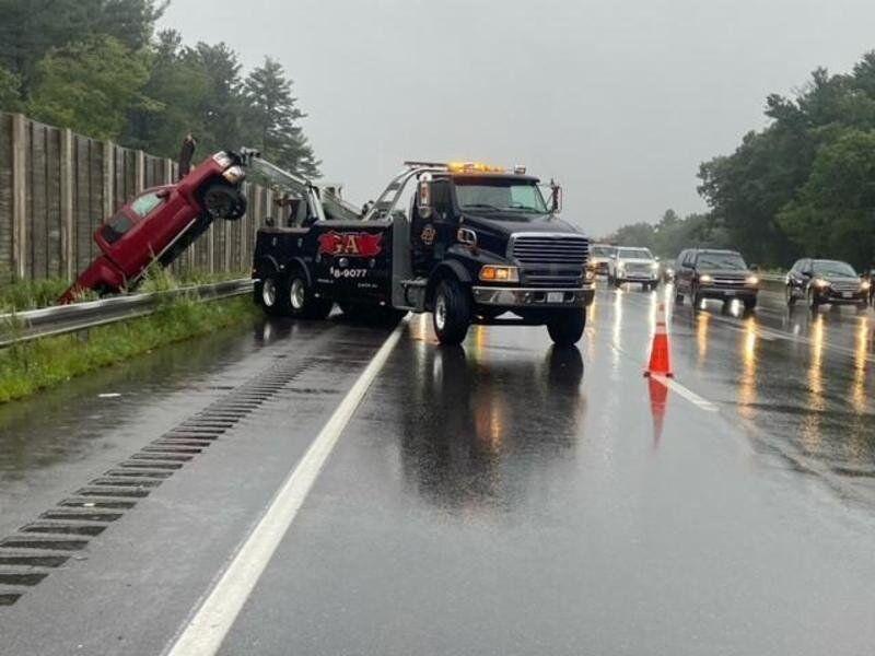 3-car crash in Salem sends Haverhill man to hospital