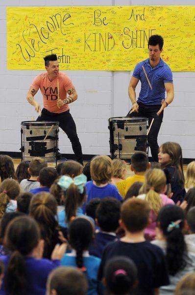 Recycled Percussion duo visit Salem   News   eagletribune.com
