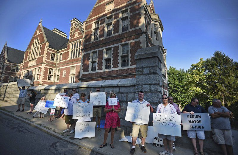 Outraged Methuen residents protestpolice raises