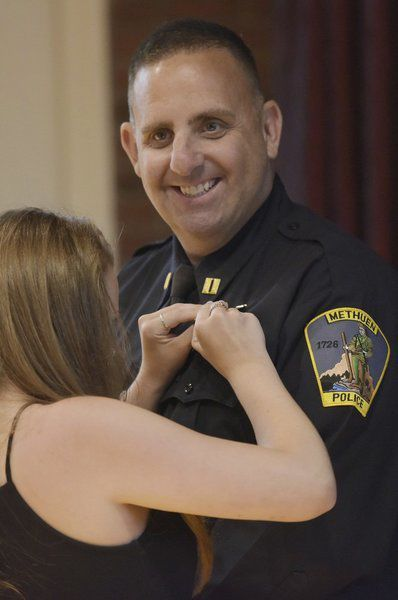 Methuen police officers promoted