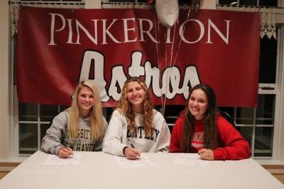 Pinkerton lacrosse captains sign college intents