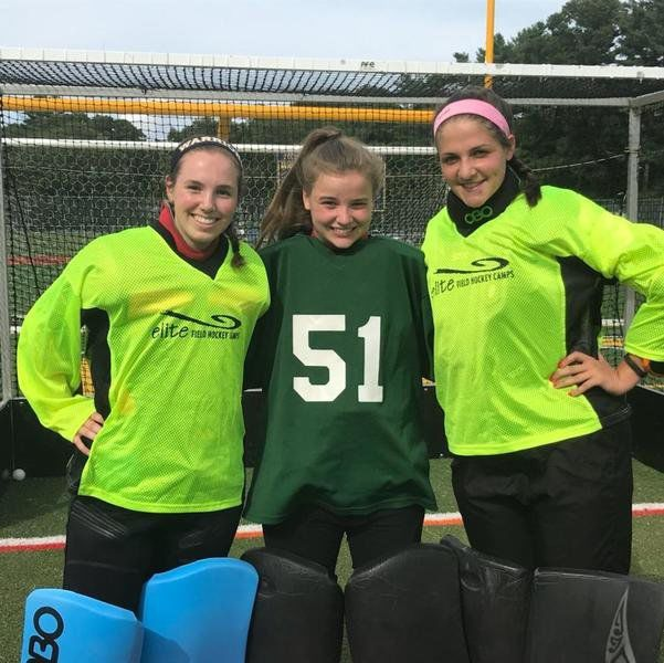 new product 85e27 434bb Goalie trio all play key roles for Andover field hockey ...