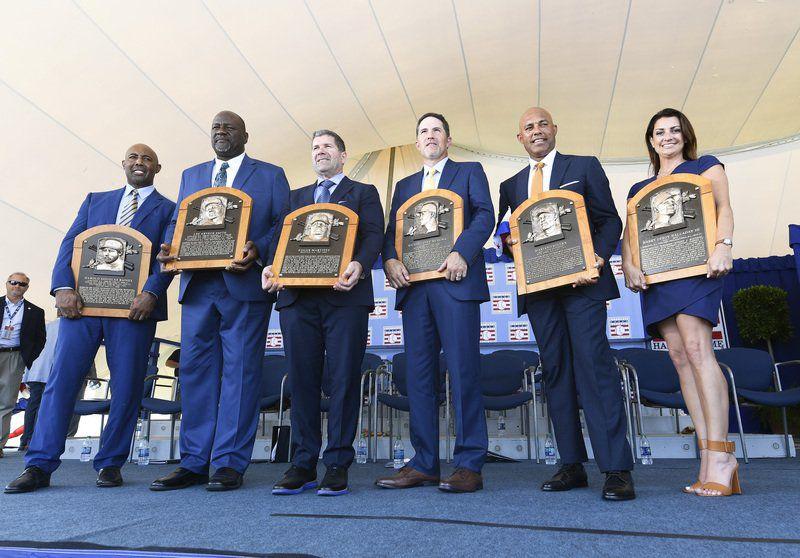Yankees legend Rivera highlights MLB Hall of Fame ceremony
