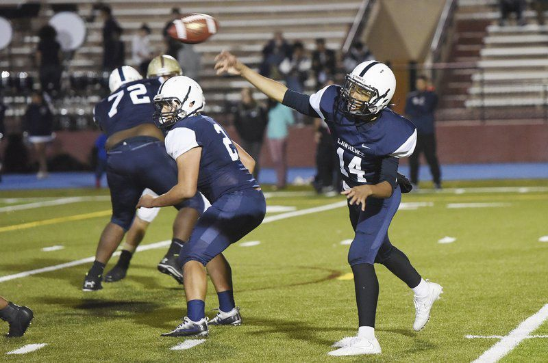 Three-year starting QB Tamayo ready to lead Lawrence