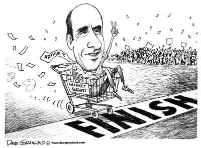 Editorial cartoon/Dave Granlund
