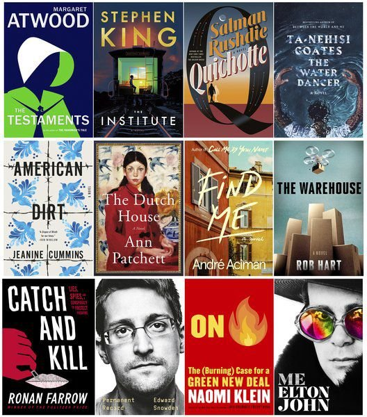 Books to fall for: Atwood, Rushdie novels among the newest reads