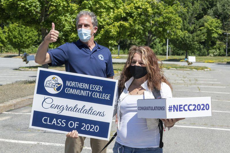 Time to celebrate, as NECC's 600 grads receive diplomas, gifts