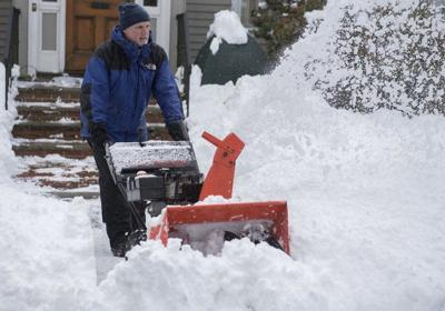 Snow fun: Children enjoy snow day as adults dig out