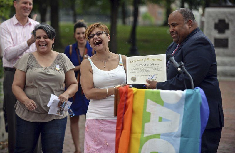 A year after the Orlando massacre, Lawrence celebrates its gay residents