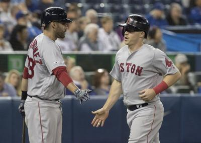 Bogaerts reaches 50 doubles, Red Sox top Blue Jays