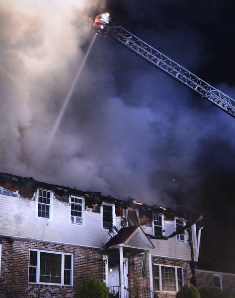 Massive fire destroys single-family home in Andover; no injuries reported