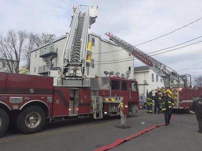 Apartment building fire deemed accidental
