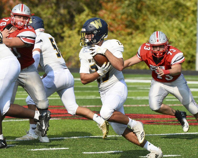 Photos from Pinkerton football's win over Windham on Saturday