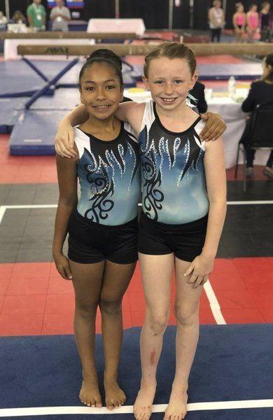 Gymnasts shine at national championship