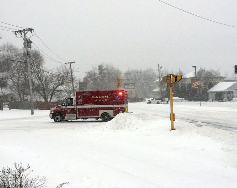 Blizzard baby: Salem firefighters called to home birth during nor'easter