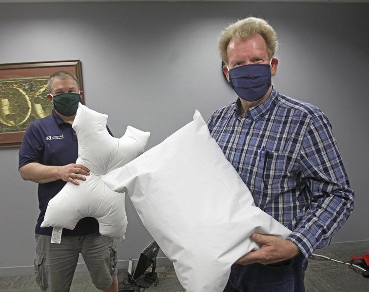 Manufacturer ships 20,000 medical pillows to NYC