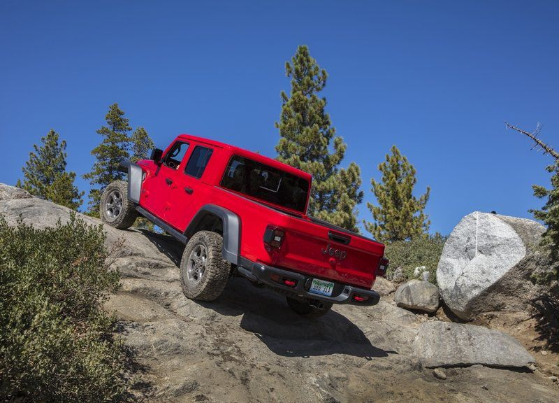 New Jeep Gladiator is a trail-worthy truck