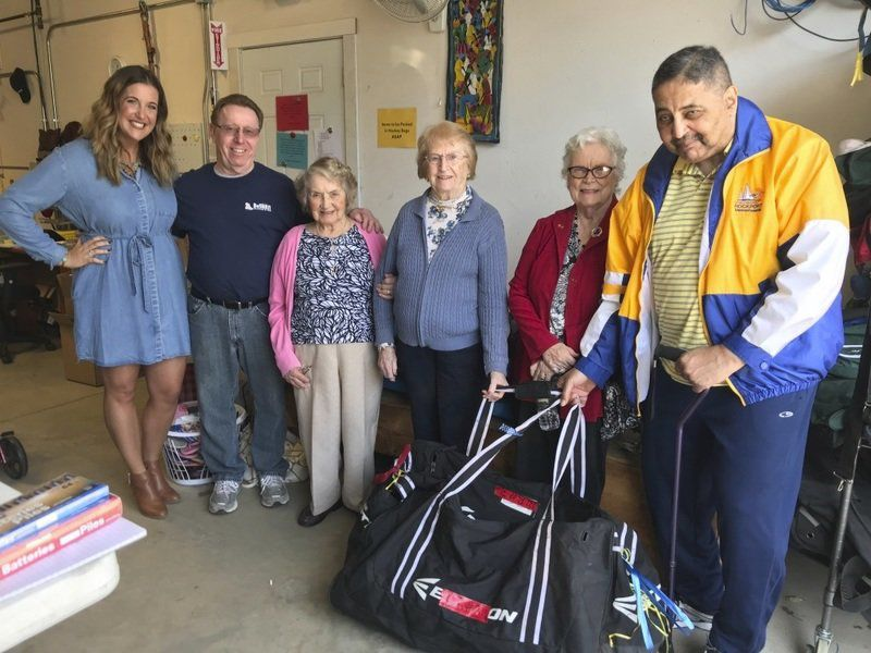 Residents donate goods to Haitian orphanage
