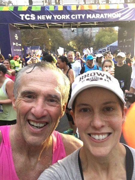 Hometown Sports: After brain tumor, Stacey Lafond runs marathon