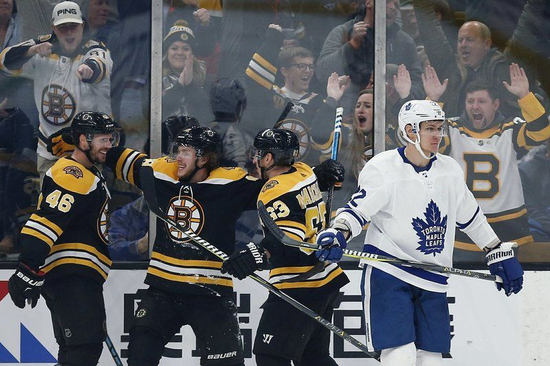 Here's why the Bruins will defeat the Maple Leafs ... again