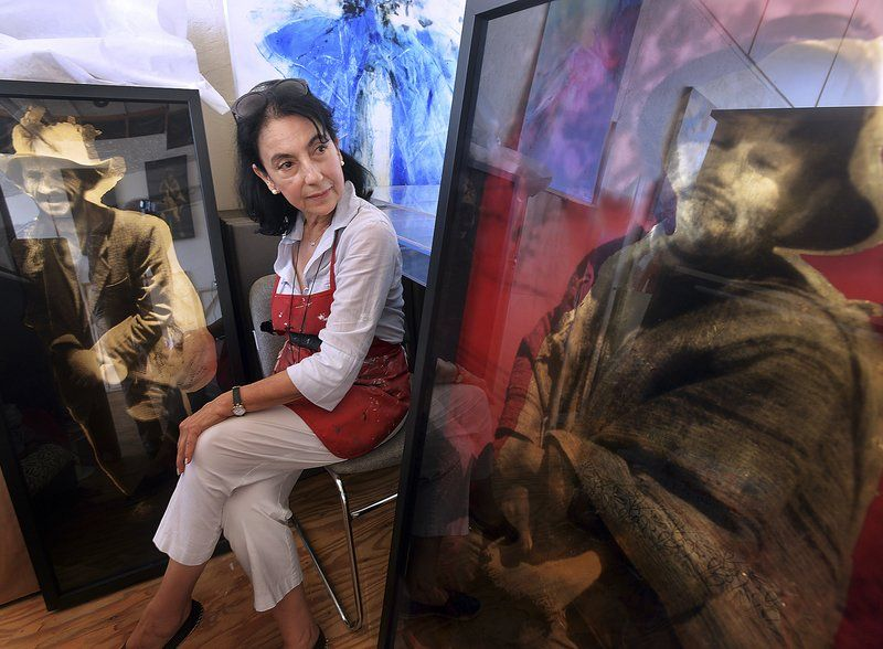 Broadening her brushstrokes; Local artist extends reach to an international audience