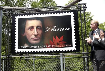 Thoreau postage stamp to be dedicated on 200th birthday