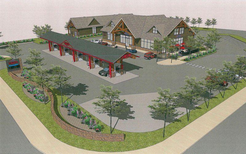Gas Station, Car Wash And More Proposed For Main Street In