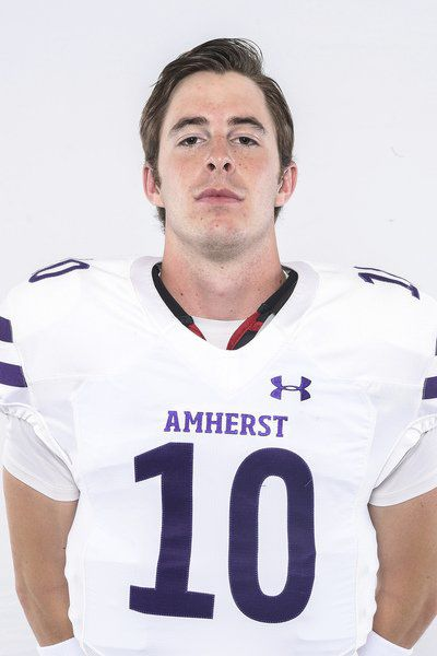Awesome Ollie: Entering final football game, Andover's Eberth has made big impression at Amherst