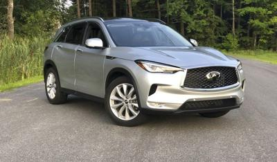 New Infiniti QX50 shines inside and out