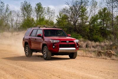 Toyota 4Runner keeps its off-road ability