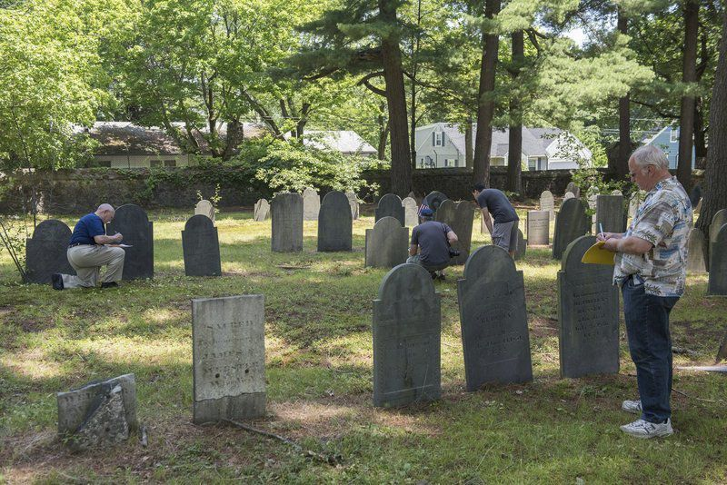 History detectives: Group visits cemeteries, pieces together Methuen's past