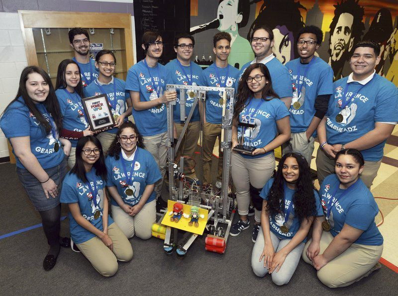 Lawrence High Robotics Team Wins Regional Competition Merrimack
