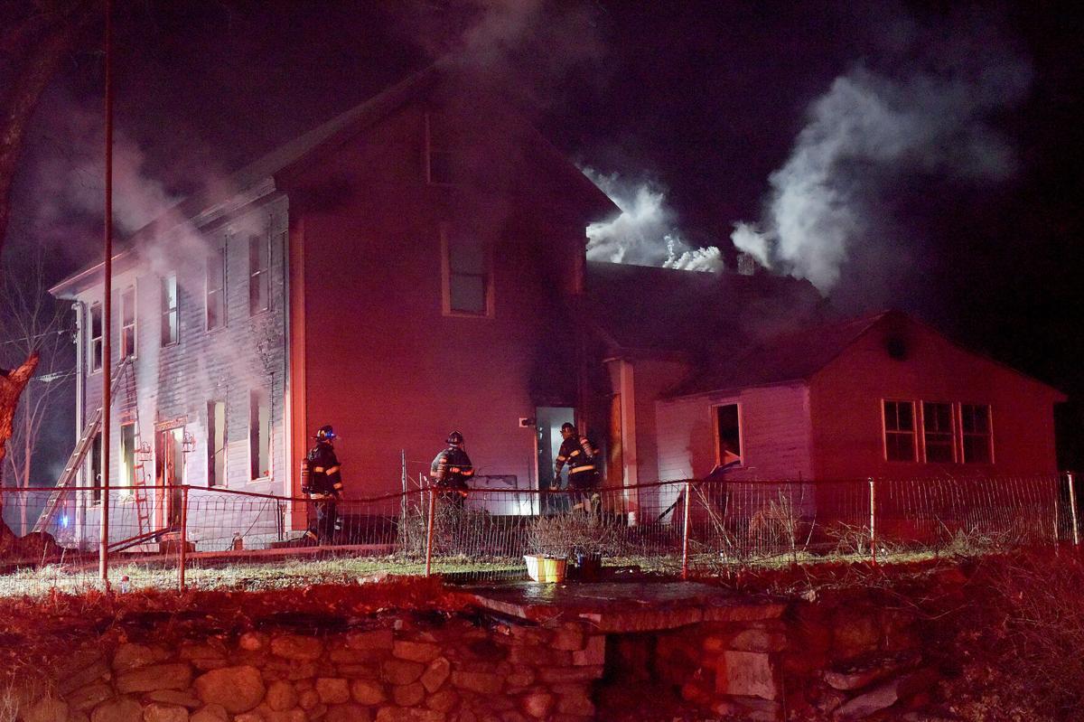 West Street Fire in Methuen