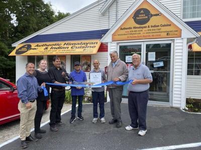 Chamber welcomes new ethnic restaurant