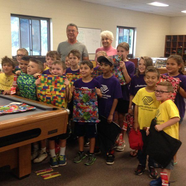 Student backpack program supports local children