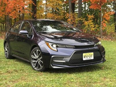 New Corolla sedan is stylish, practical