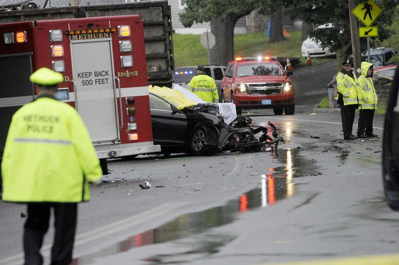 Man dead, woman seriously hurt in head-on crash in Methuen | News