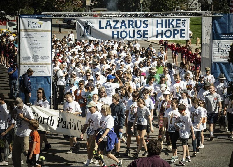 Hundreds come out for annual Hike for Hope