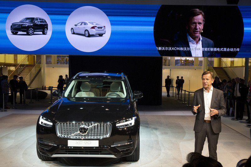 Volvo to send 'Made in China' cars to US