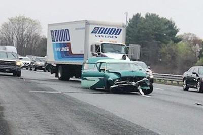 Hit-and-run driver sought by classic car owner injured in I-495 crash