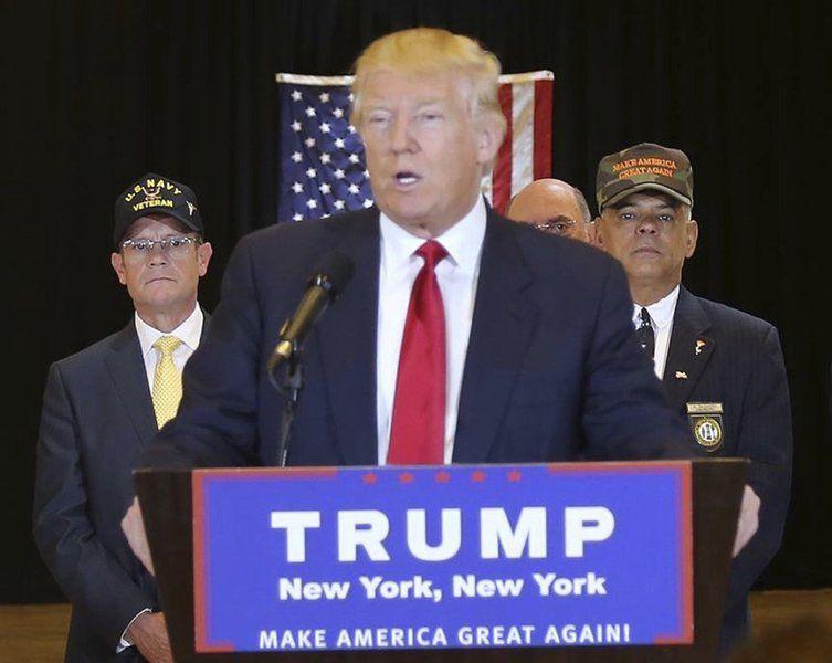 Trump again taps locals for NH campaign