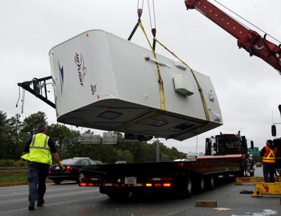 Camper overturns in highway crash | Local News