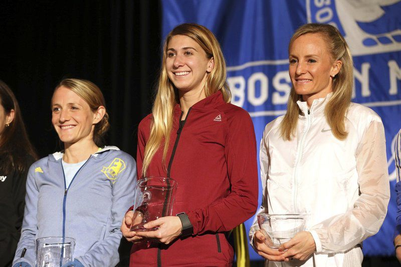 Phillips Academy teacher shocks everyone, including herself, with fourth place finish at Boston Marathon