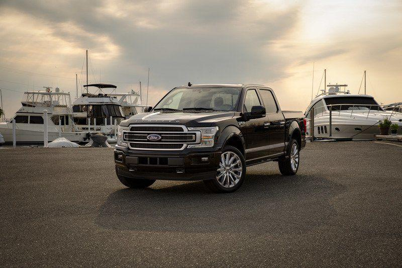 Ford F-Series pickup keeps a long lead