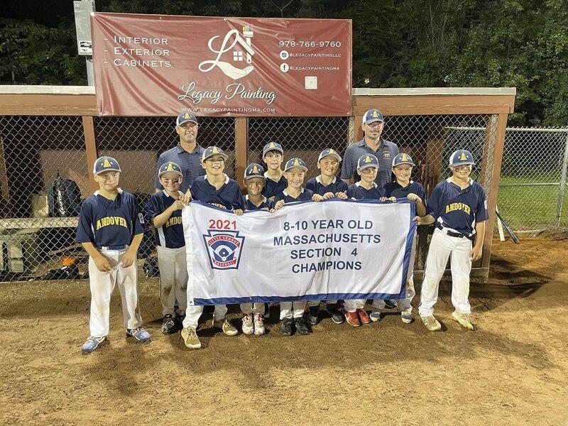 Winning Andover Little League 10U and 11U host states