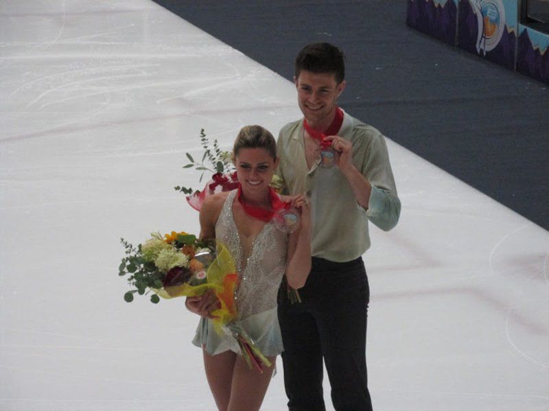 The Right Stuff: Windham native makes international competition skating debut
