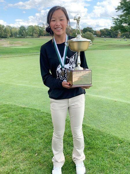 Pinkerton's Julianna Megan puts freshman collapse behind her to claim state title