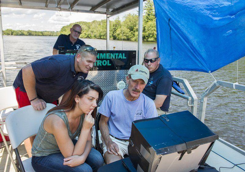 Sonar aids Clean River Project